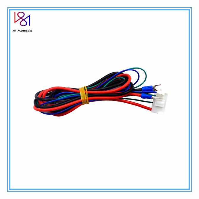 1PC Anet A6/A8 Sarang Tempat Tidur Line/Kabel Upgrade MK2A/MK2B/MK3 untuk Mendel Rep Rap i3 Anet 3d Printer Bagian Panas-Bed Kabel