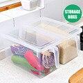 Кухонный Контейнер для хранения еды чехол для холодильника хрустящая коробка с ручкой многофункциональный SNO88