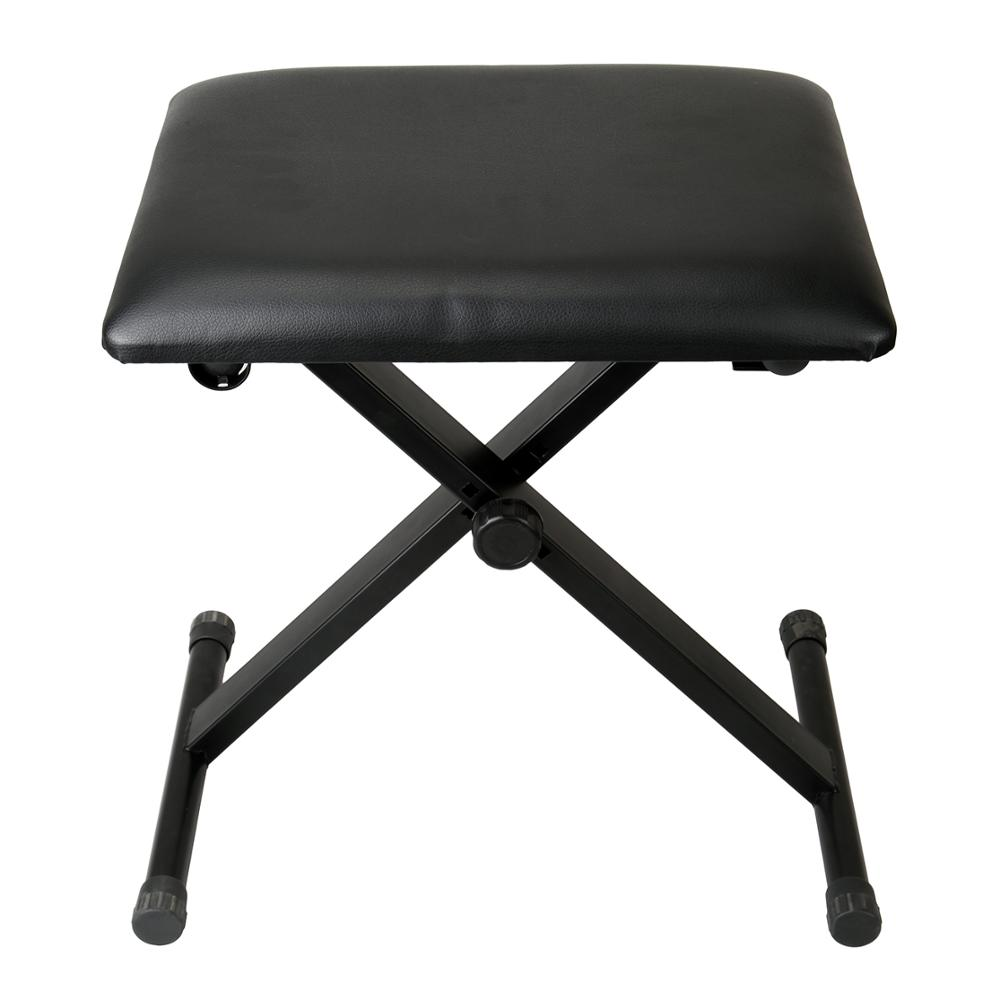 Yonntech Adjustable Piano Stool Chair Piano Keyboard Bench Padded Leather Seat For Music Room