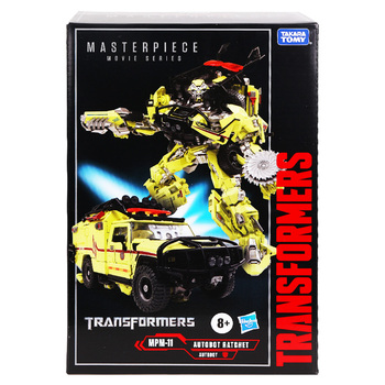 Hasbro Transformers Mpm11 Ratchet Mpm05 Barricade Mpm08 Megatron Autobot Robot Car Deformation Toys Collection 2