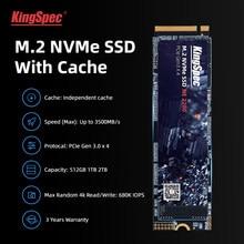 KingSpec m2 ssd PCIe 1 TO M.2 256 GO SSD 2280 512 GO 128 GO NVMe Touche M hdd dram pour Ordinateur De Bureau Ordinateur Portable Interne Disque dur Avec Cache