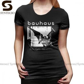 Sister T-Shirt Bauhaus Bat Wings Bela Lugosi S Dead T Shirt Printed Gray Women tshirt 100 Cotton O Neck Ladies Tee Shirt men s o neck popuko and pipimi t shirt yakuza pop team epic tee shirt vintage t shirt cotton s 6xl camiseta