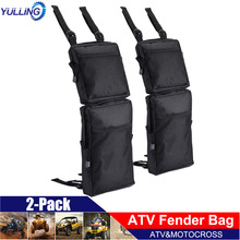 Fender-Bags Hunting-Bag Cargo-Storage Atv-Tank Oxford Fast-Delivery New 2pcs 600D