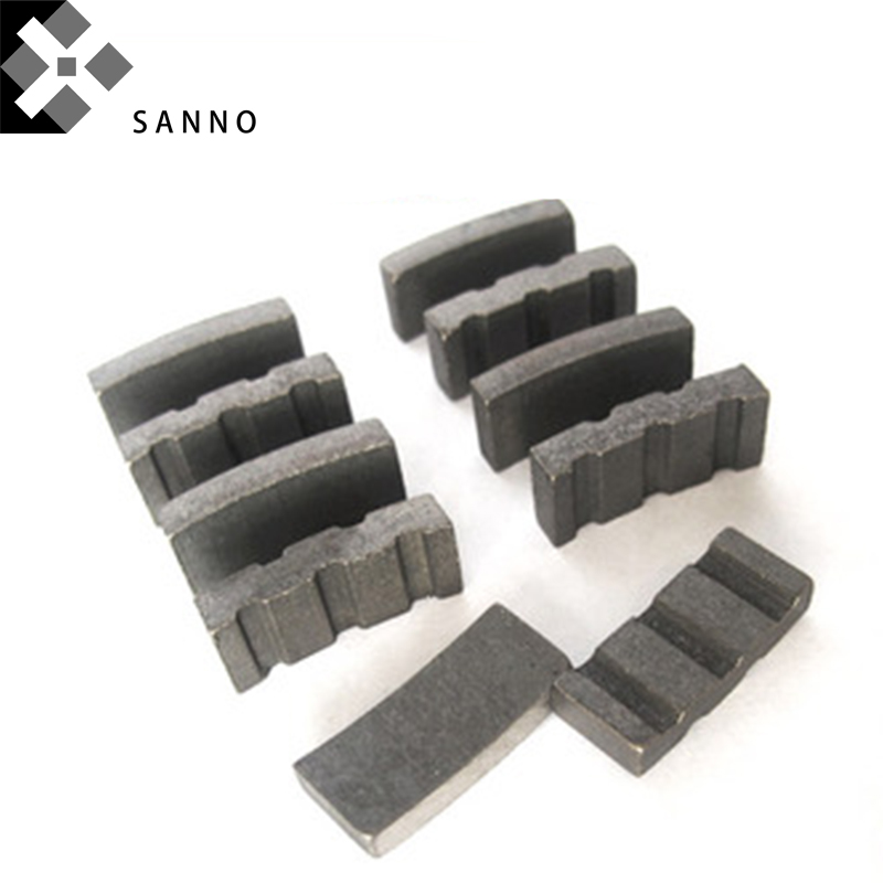 20pcs Turbo Diamond Concrete Segments Core Drill Bit Welding Diamond Cutting Tool Segment For Granite Concrete Marble
