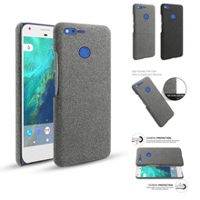 For Google Pixel XL Case Retro Woven Fabric Cloth Slim Anti-scratch Scrub Hard PC Back Cover For Google Pixel XL Case Shockproof retro women strappy beaded woven floral print anti slip cloth shoes woman gift