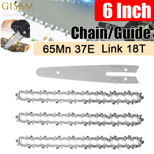 6 Inch Chain Universal Chain Mini Steel Chainsaw Chain Replacement Made of Fine Quality Steel with Superior Technology