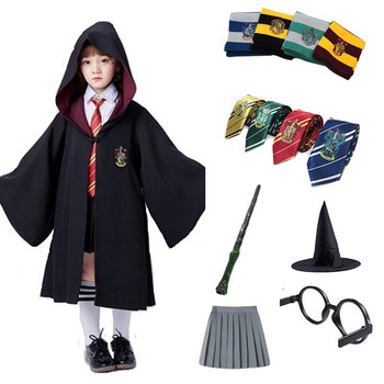 Cosplay Costumes For Potter Robe Hermione Granger Cosplay Clothes Magic Cloak Potter Suits Cape Cosplay Wand Halloween Christmas star wars jedi cloak cosplay costumes adult men hooded robe cloak cape costume halloween christmas dresswith