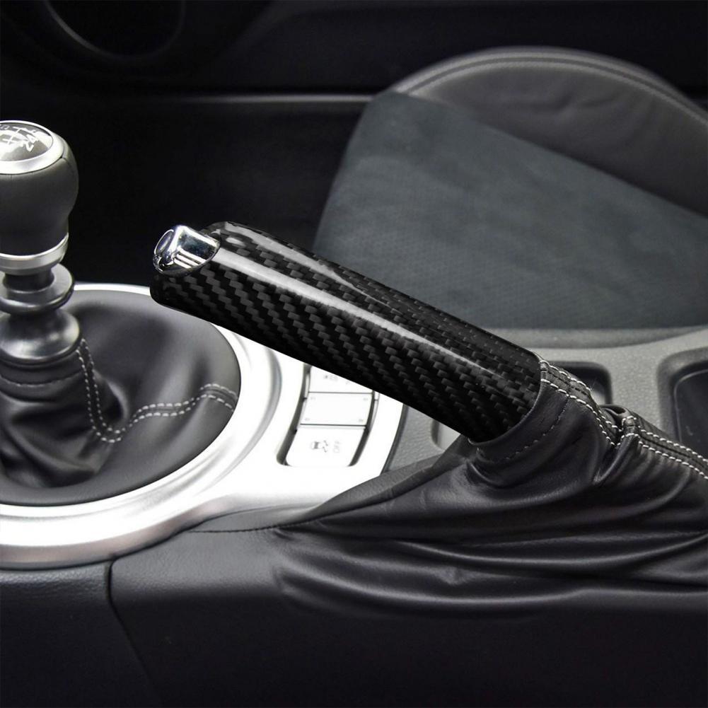 Handbrake Cover Non-slip Well-suited Carbon Fiber Lightweight Handbrake Protective Case for Subaru
