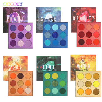 Docolor 9 Colors Eye Shadow Palette Beauty Makeup Powder Matte Shimmer Glitter Eyeshadow Palette Waterproof Pigmented Cosmetic docolor 9 colors eye shadow palette beauty makeup powder matte shimmer glitter eyeshadow palette waterproof pigmented cosmetic