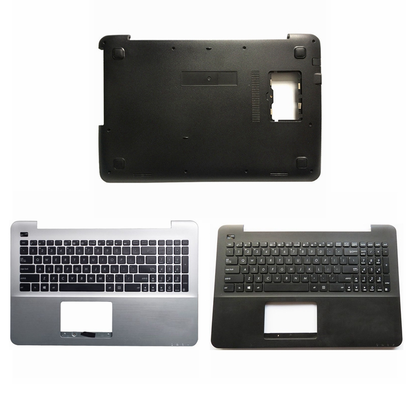 For ASUS A555 X555 K555 F555 W519L VM590L VM510 X554 Laptop Palmrest upper cover/bottom case cover With a horn 13NB0621AP0512