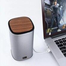 2021 BINNIFA Computer Desktop altoparlante Stereo Bluetooth scheda audio USB connessione Computer Mobile connessione Wireless Bluetooth