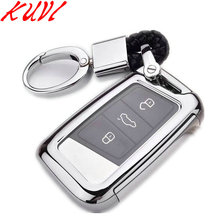 Soft TPU Protection Remote Key Cover Case For Skoda Superb A7 Volkwagen Passat B8 VW Golf Gte Car Styling Accessorise