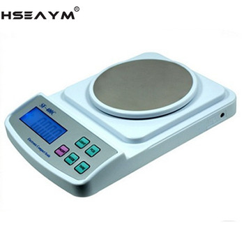 New High Precision Electronic Gold Jewelry Balance Scales 500g/0.01g Kitchen Jewelry Weighing Scales Balance hxx high precision multifunction new dro set gcs900 2da and 2 pc linear glass scales 5u gcs898 50 1000mm for machines