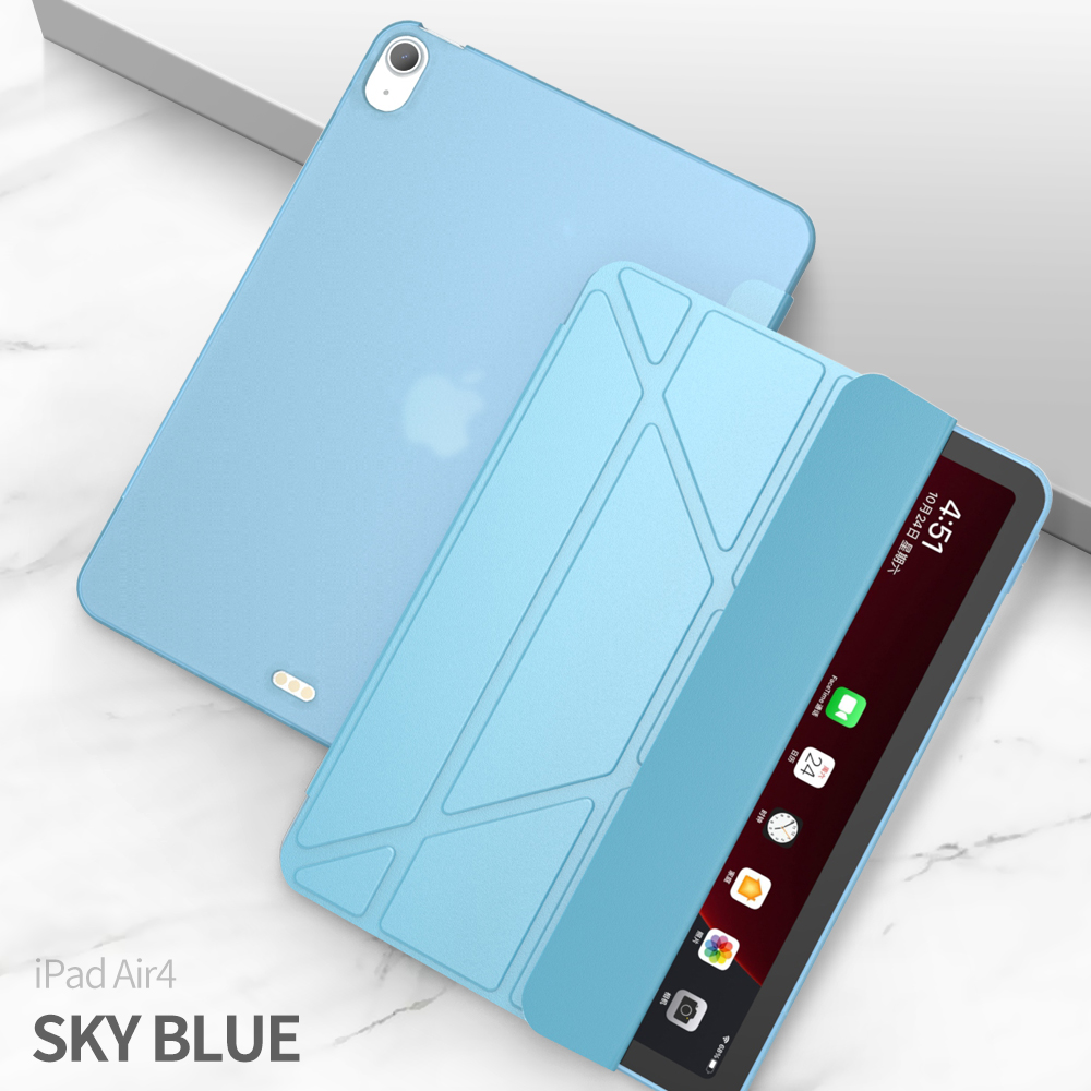 Light Blue Yellow For iPad Air 2020 Case For iPad air 4 Case 10 9 2020 A2316 Magnetic Funda