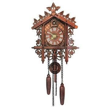 Relojes de cuco para pared, decoración del hogar, Vintage, para pared de...