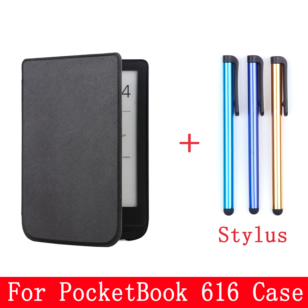 For <font><b>Pocketbook</b></font> <font><b>616</b></font> Case Protective Cover Case Tablet <font><b>Pocketbook</b></font> eBook Case Non-slip Shell Skin Touch With stylus image