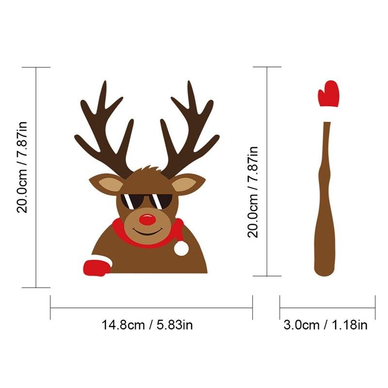 Купить рождественская наклейка для автомобильного стеклоочистителя