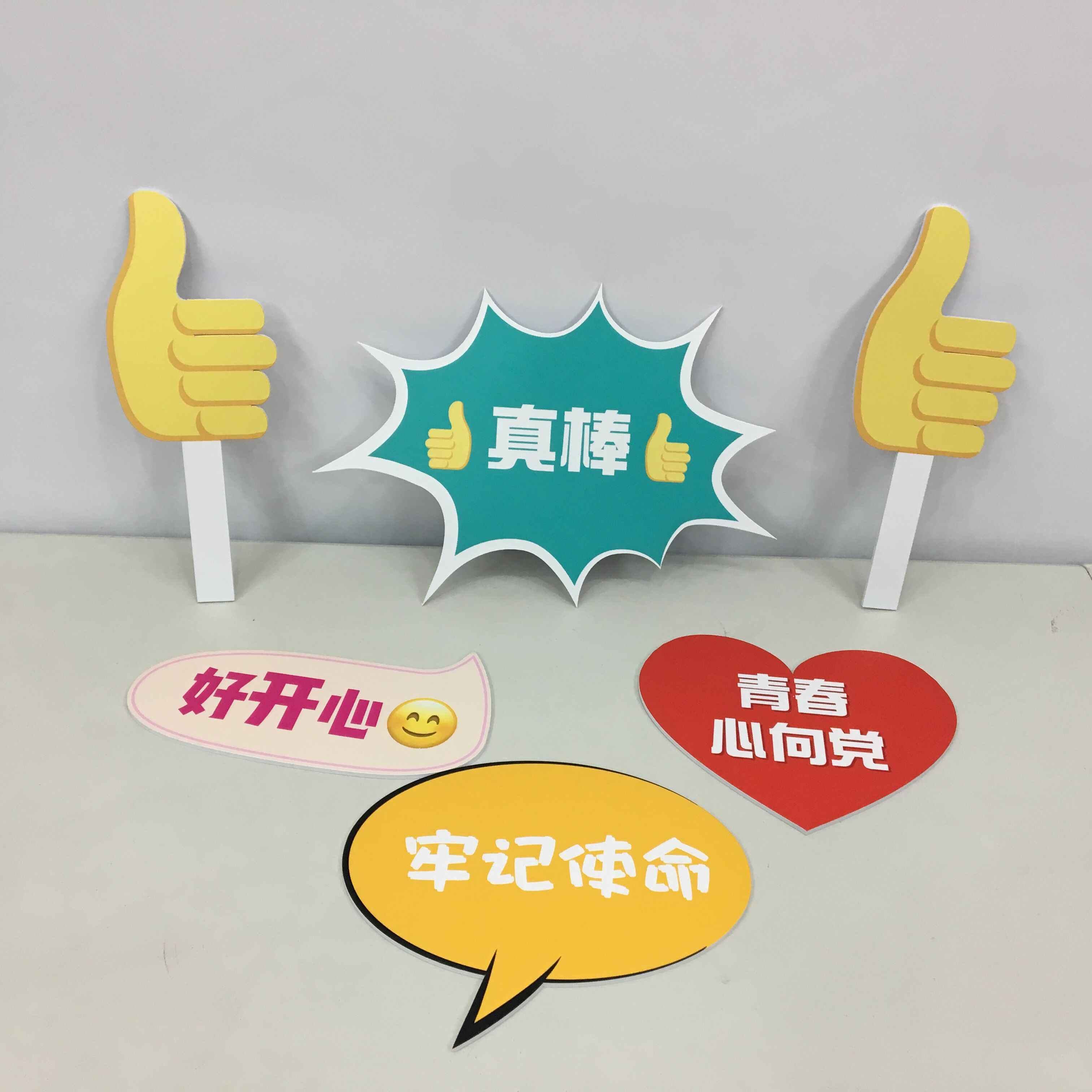 Expression Package Hand Placards Pvc