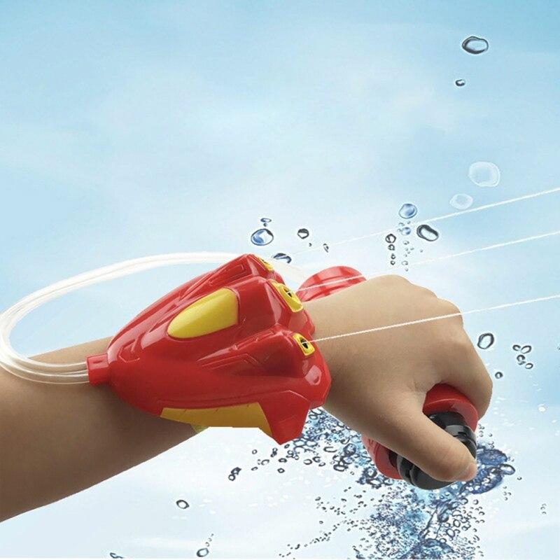 Summer Children Wrist-Type Spray Water Gun Hand-held Water Gun For Kids Bath Toy Outdoor Beach Toys
