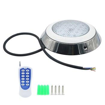 SZYOUMY AC/DC 12V Zwembad Licht 12w IP68 RGB Afstandsbediening Onderwater Licht Waterdichte Outdoor Vijver Lamp