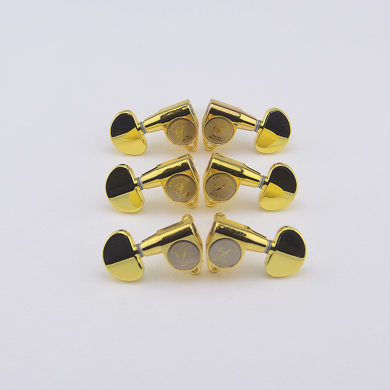 1 Set High Quality Gear Ratio 1:18  Guitar Machine Heads Tuners  Gold  MADE IN KOREA