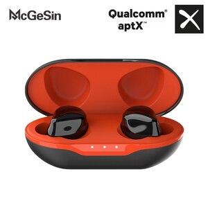 Image 1 - ใหม่ APTX หูฟังไร้สาย True TWS Bluetooth 5.0ชุดหูฟัง CVC 8.0การตัดเสียงรบกวน HD หูฟังพร้อมไมโครโฟน QCC3020