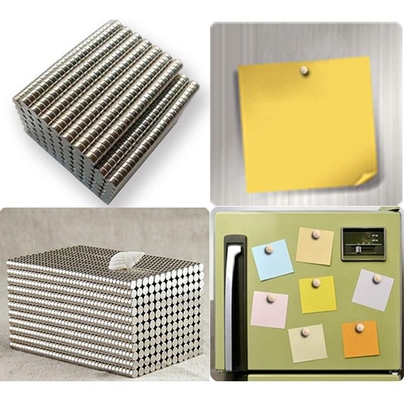 200 шт/400 шт супер сильные неодимовые магниты Редкоземельные постоянные магниты N35 дисковый на холодильник ремесло(это маленькие магниты