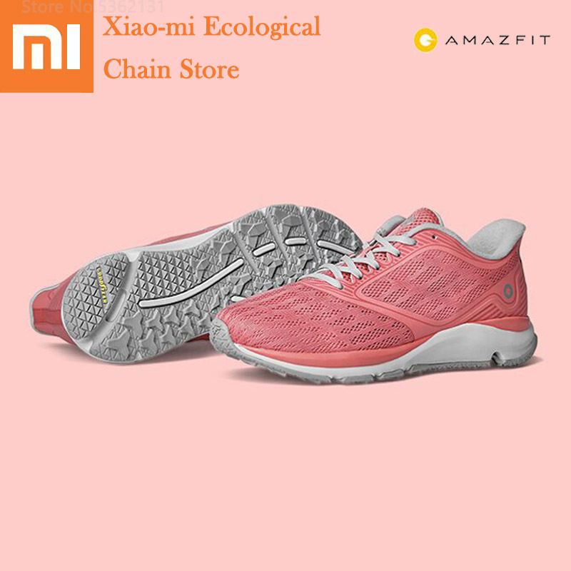 Xiaomi Amazfit Antelope Light Smart Shoes Outdoor Sports Shoes Rubber Comfortable Breathable Sneakers Men Women Running Sneakers