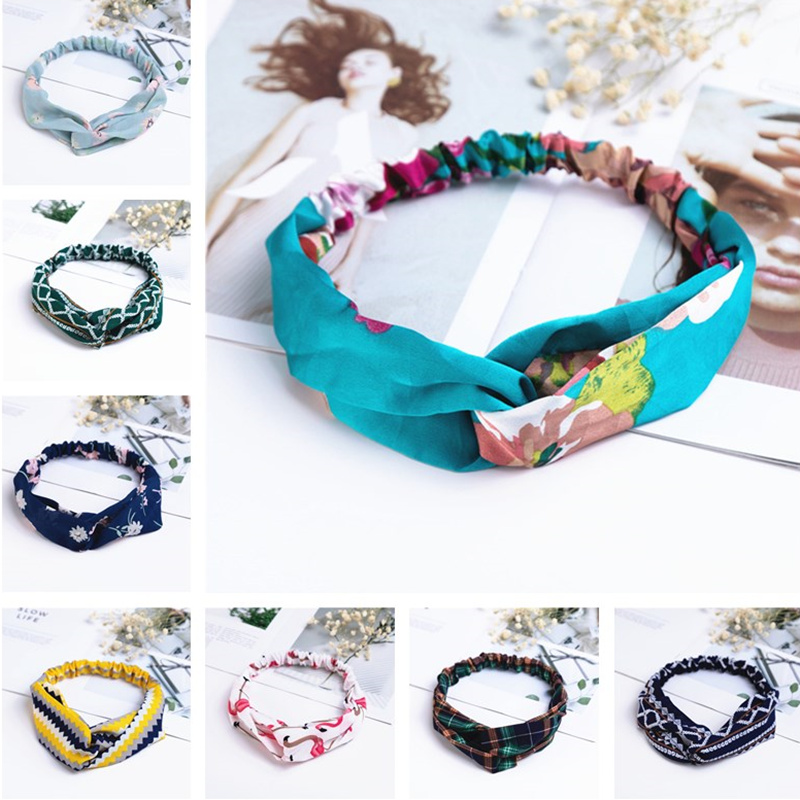 2020 New Hot Sale Spring Fashion Women Headbands Vintage Bohemian Girl Hair Bands Hair Accessories