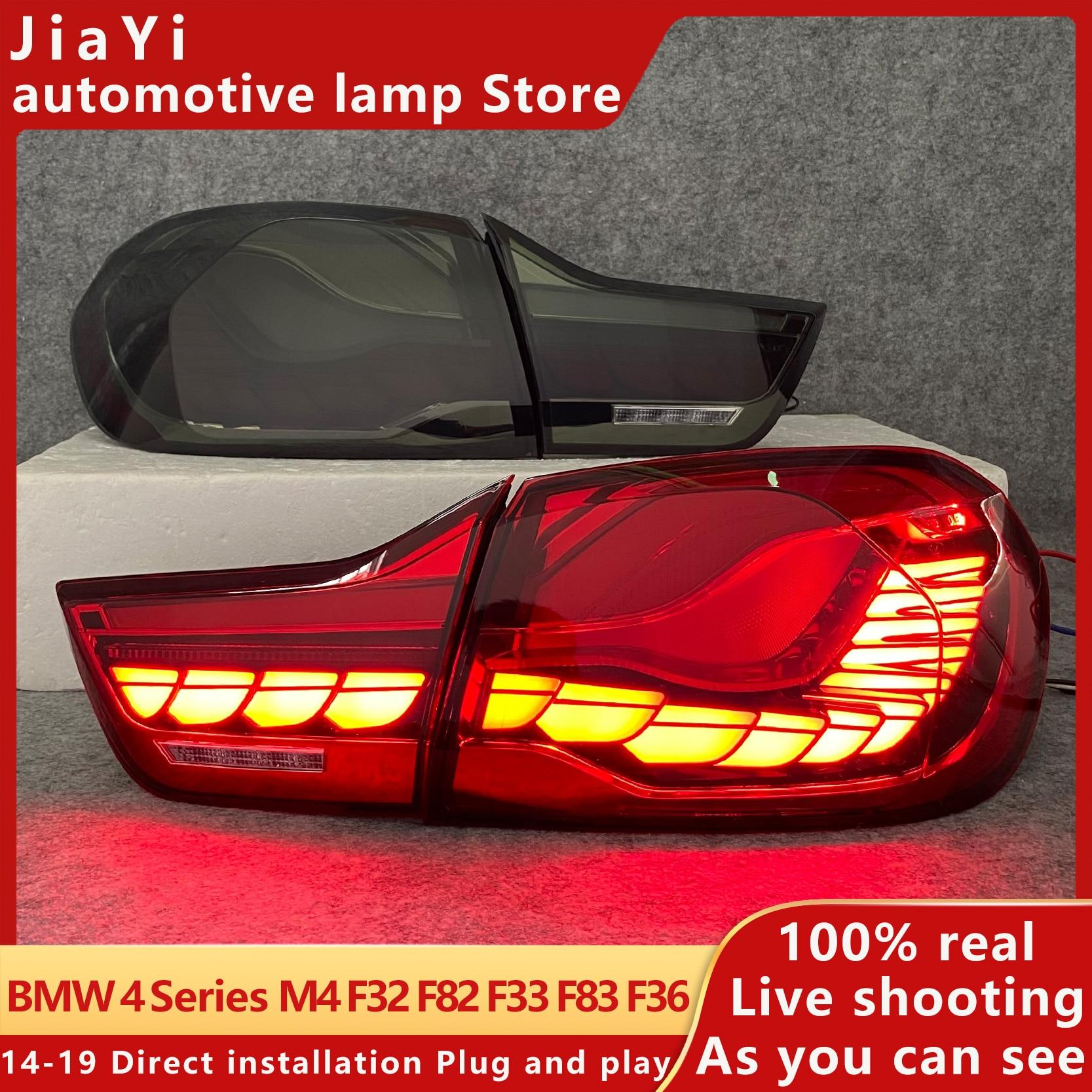 F82 хвост светильник BMW 4 серии 2014-2019 M4 хвост светильник GTS дизайн светодиодный фонарь светильник F32 F33 F83 F36 DRL сигнала светильник машинные части...