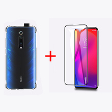 цена на Luxury Protective Phone Case For Redmi K20 Pro Case Screen Protector TPU Anti-knock Clear Back Cover For Xiaomi K20 Cases
