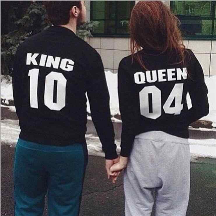 King 10 Queen 04 Hoodies เสื้อ EuropeTops 2020 ผู้หญิงสบายๆแฟชั่น Kawaii Kpop เหงื่อ Punk สำหรับสาวเสื้อผ้าเกาหลี