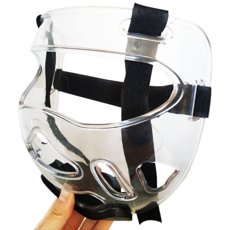 Каратэ страйкбол шлем Тактическая защита головы взрослых детей мальчиков скейт лицо покрытие для мужчин женщин Лыжные маски ММА поезд обор...