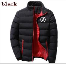 Men's The Flash Hoodie Zip-up padded sports jacket long sleeve jacket