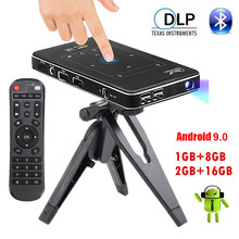 4k projetor mini wifi android projetor completo hd 1080p bluetooth led vídeo cinema para casa beamer pr47004