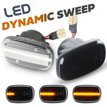Led Dynamic Side Marker Turn Signal Lights For Toyota Corolla Celica Caldina Camry Hilux Probox Fielder Avensis Prius Runx Vios