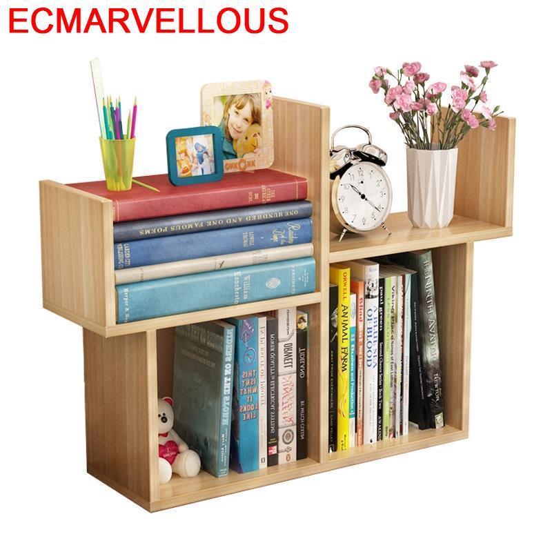 Estanteria Cabinet Home Madera Camperas Dekorasyon Librero Meuble Rangement Bois Book Decoration Furniture Retro Bookshelf Case
