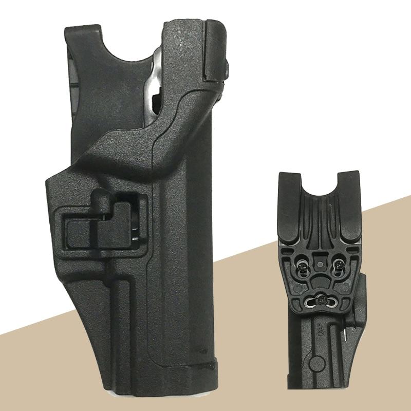 Military Army Police Gun Case Tactical HK USP Gun Belt Holster Right Hand Quick Drop Hunting Gun Holster Gun Accessories