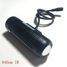 940nm 5 80 Grad Einstellbar LED Infrarot Lampe für 4 50mm objektiv CCTV Überwachung Nachtsicht Beleuchtung bloßem auge nicht sehen können