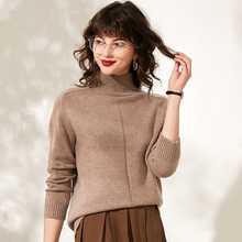 Winter thicken cashmere sweater women pullover long sleeve turtleneck fit female pullover women sweater warm pull femme jumpers