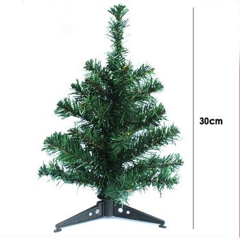 30cm wysokie ozdoby choinkowe sztuczne choinki i sztuczne sztuczne drzewo z tworzywa sztucznego xmas tanie i dobre opinie