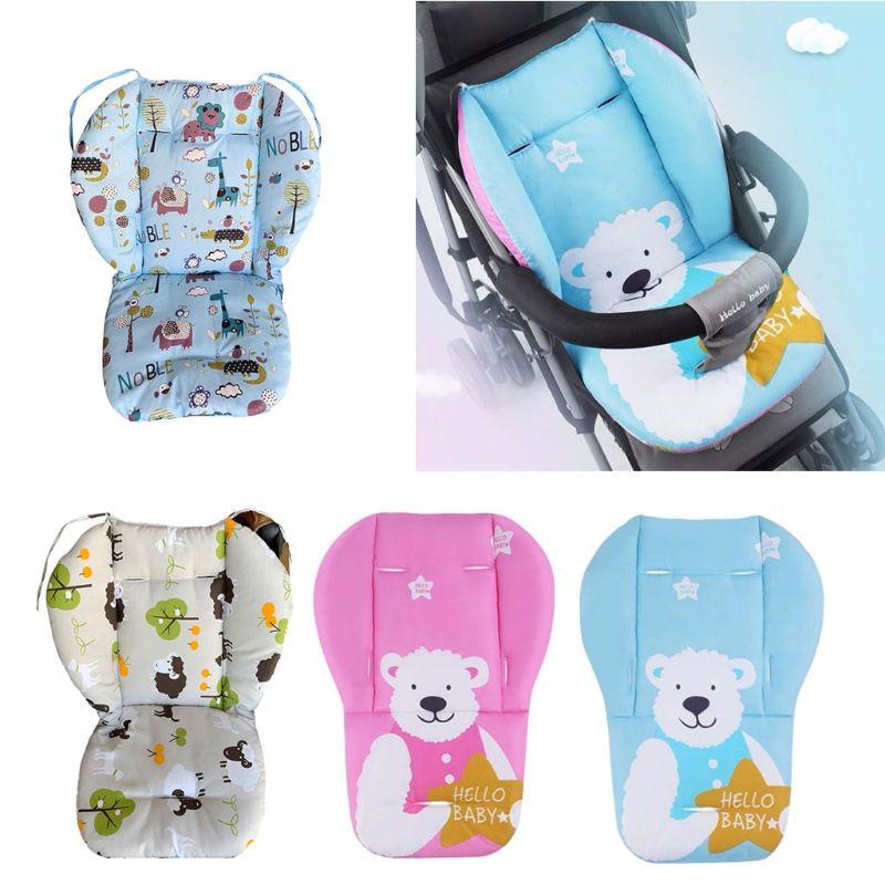 Universal Baby Stroller High Chair Seat Cushion Liner Mat Cart Mattress Mat Feeding Chair Pad Cover Protector