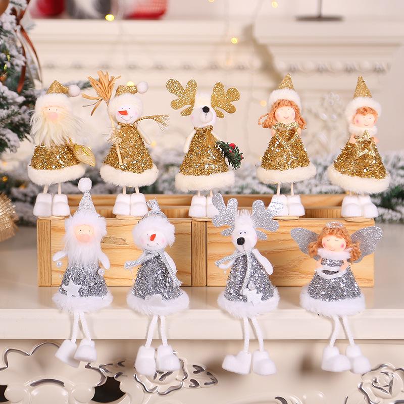 2020 New Year Gift Cute Christmas Angel Doll Xmas Tree Ornament Noel Deco Christmas Decoration for Home Natal Navidad 2019 Decor 29