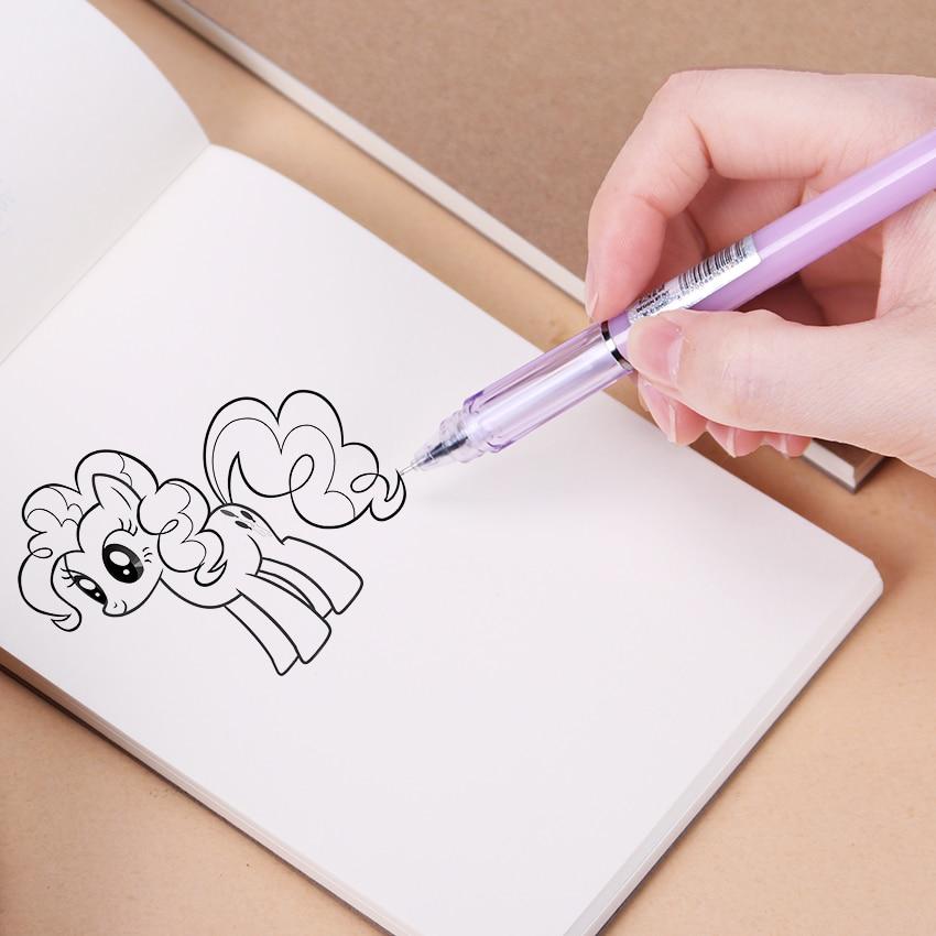 Retro Kraft Sketch Sketchbooks Graffiti Blank Notebook Creative Notebook Notepad Book Diary Book School Stationery 1PC(60 Sheets