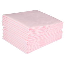 15pcs/Bag 60 X 60cm Super Absorbent Disposable Urine Pad Breathable PE Film Non-Woven Adult Incontinent Nursing Underpad Pink