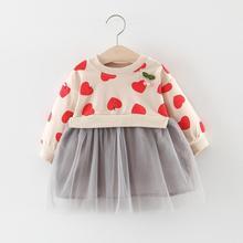 2019 Autumn Infant Dress Long Sleeve Baby Dress For Girls Pr