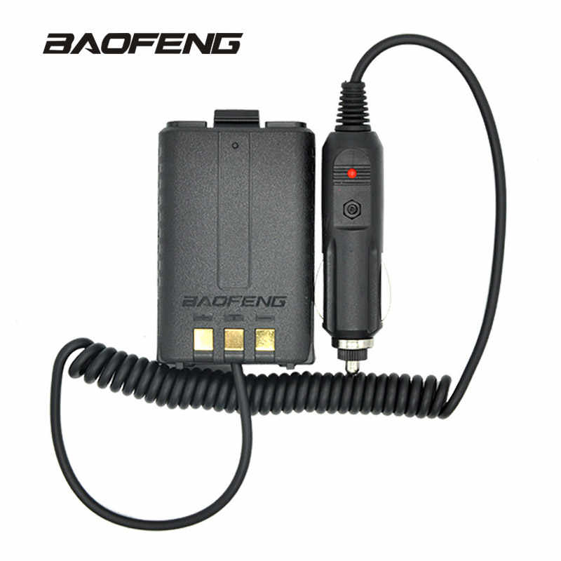 Baofeng Batterie Eliminator Auto Ladegerät für Tragbare Radio UV-5R UV-5RE UV-5RA Two Way Radio Walkie Talkie Zubehör