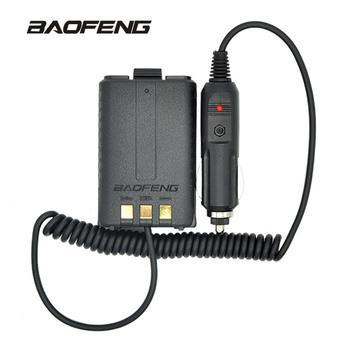 Baofeng Battery Eliminator Car Charger For Portable Radio UV-5R UV-5RE UV-5RA Two Way Radio Walkie Talkie Accessories