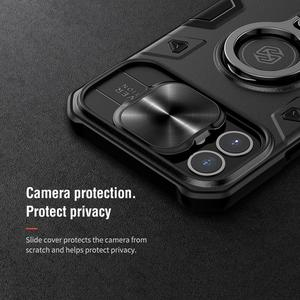 Image 5 - For iPhone 12 11 Pro Max Mini 7 8 SE 2020 Case NILLKIN CamShield Armor Cases for iPhone 11 Pro Max Cover With Ring Kickstand