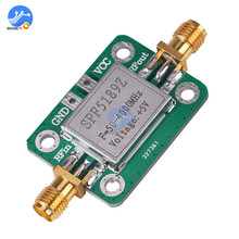 LNA 50 4000MHz RF Low Noise Amplifier Signal Receiver Module Shield Board for Arduino SPF5189 NF = 0.6dB inm
